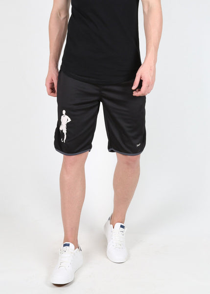Yogue Black Shorts