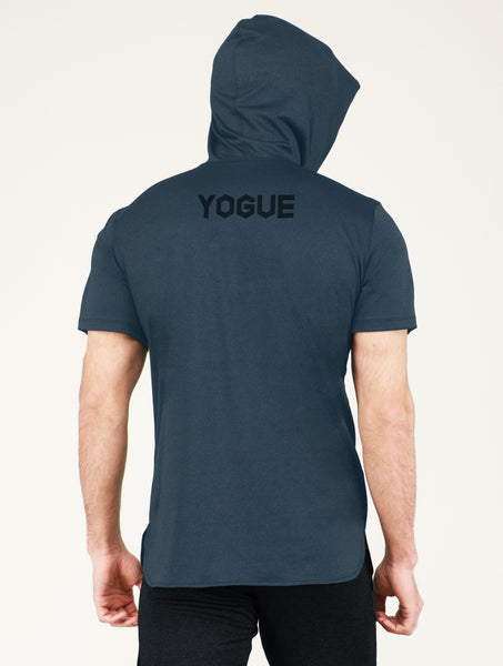 Blue Hooded T-Shirt