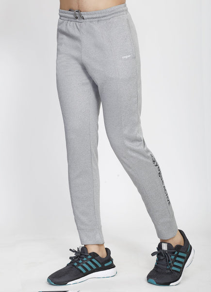 Silver Grey Slim Fit Trackpants