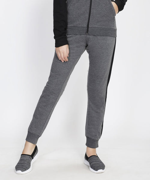Dark Grey and Black Joggers