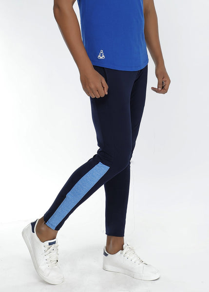 Navy Men's Running Tights