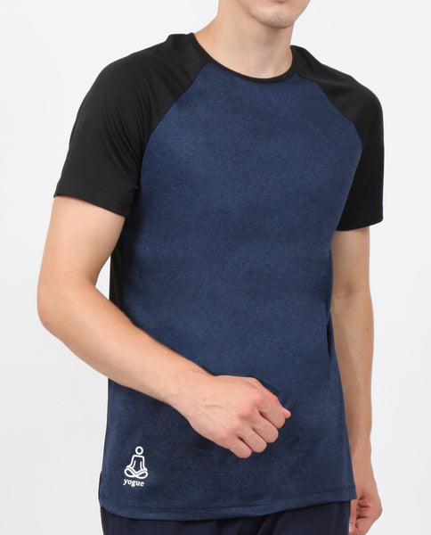 Navy Half Sleeve T-Shirt