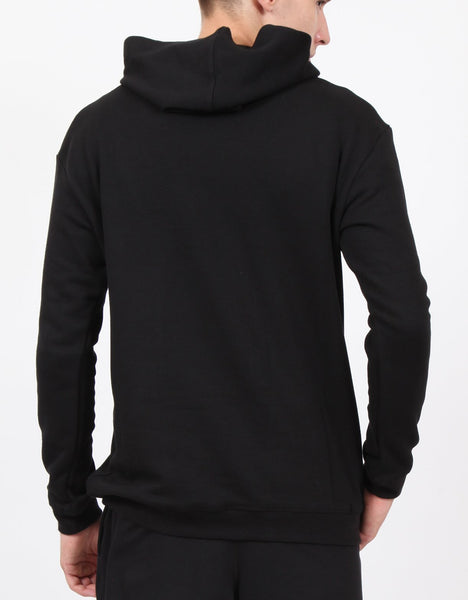Black French Terry Hoodie
