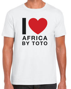 I Love Africa By Toto - Premium Tshirt