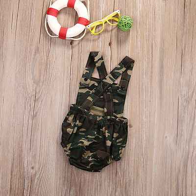 Camo Baby Fashion Playsuit