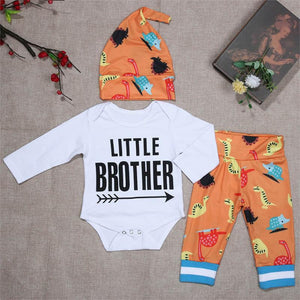 Little Brother Cartoon 3 Piece Set