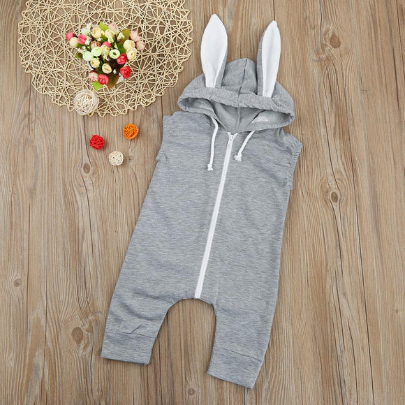 Gorgeous Bunny Onsie with Hooded Floppy Ears