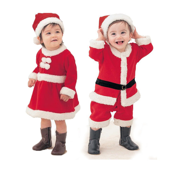 Beautiful Santa Outfits for Boy and Girl