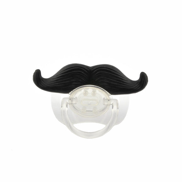 Hilarious Moustache Baby Soother