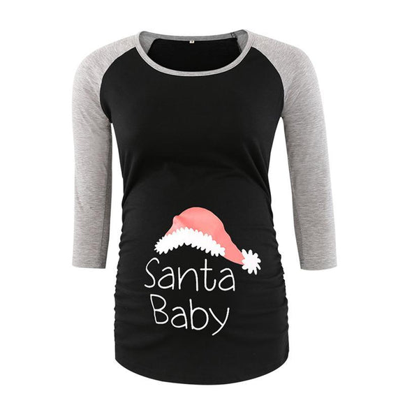 Christmas Maternity Top for Mum