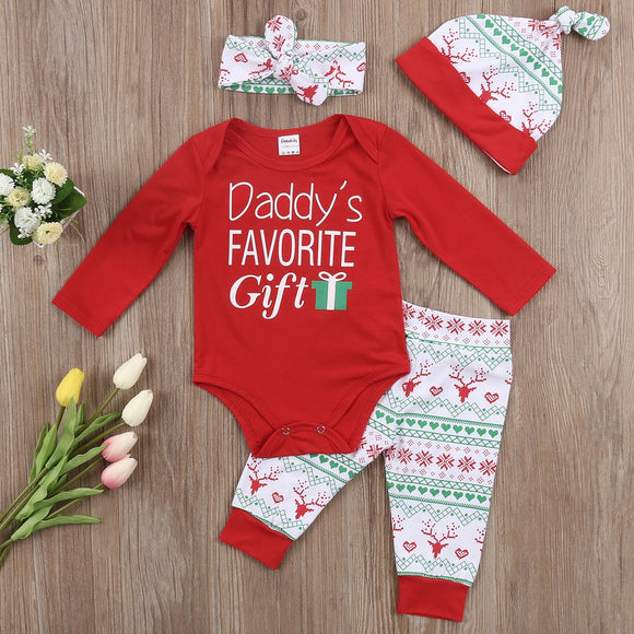 Daddy's Favourite Gift Baby Clothes Set