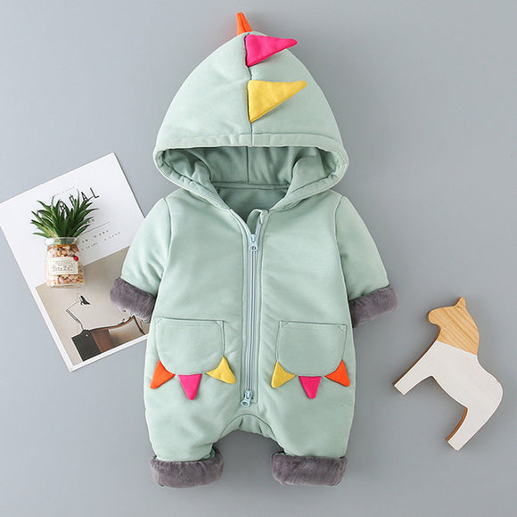 Baby Dinosaur Padded Jumpsuit