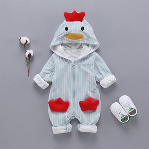 Cute Baby Chick Jumpsuit