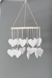 Heart Mobile (Extra White)