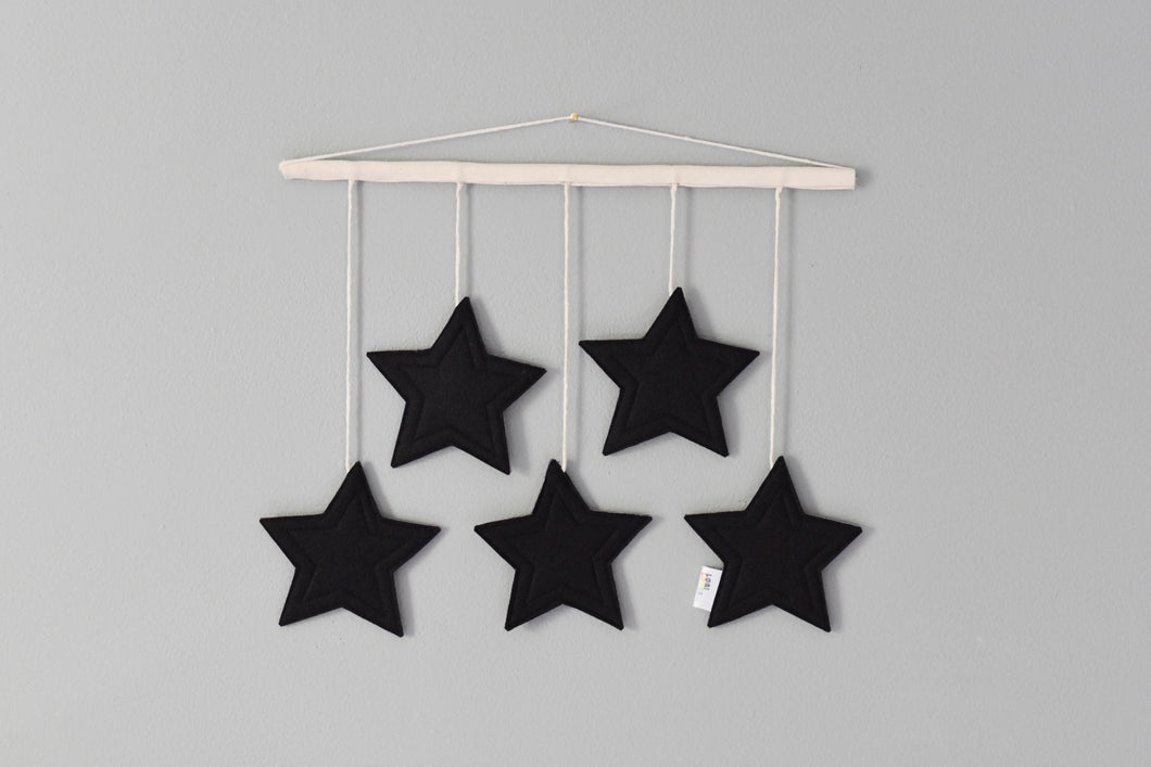 Star Wall Hanging (Black)