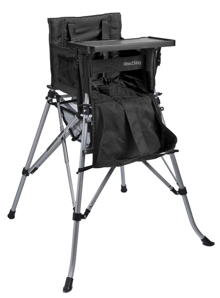 ONE2STAY Black portable High Chairs (Min. of 4 Mix and Match)