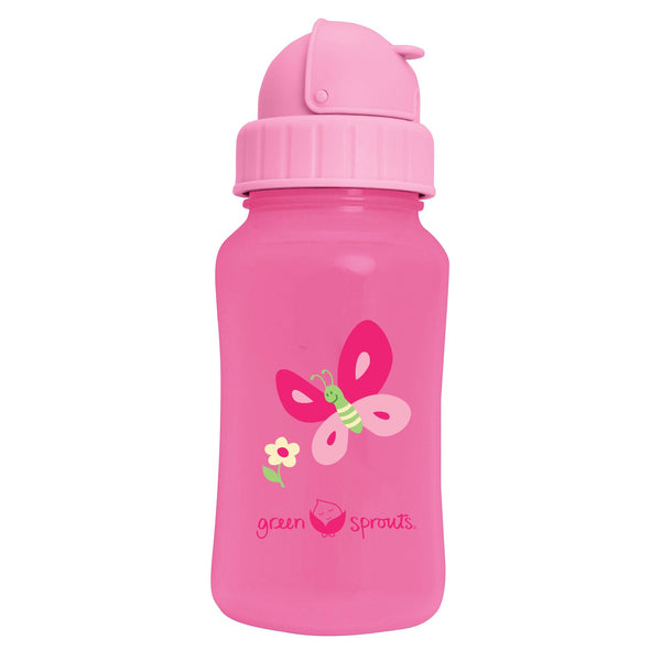 Straw Bottle Pink (Min. of 6)