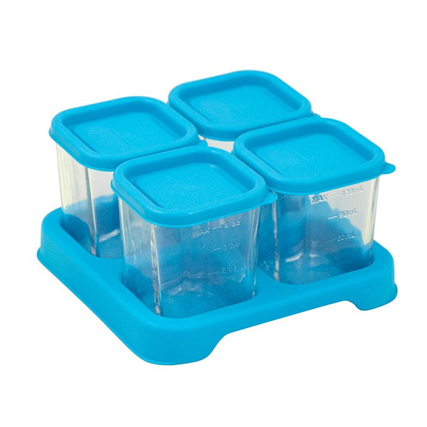 Fresh Aqua Baby Food 4oz Glass Cubes (Min. of 2, multiples of 2)