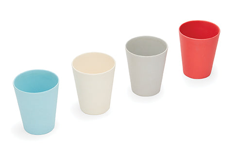 New! Red Rover BAMBOO fiber cups set of 4 (Min. of 2 sets, multiples of 2)