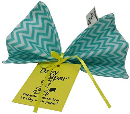 Turquoise Zig Zag Baby Paper (Min. of 6)