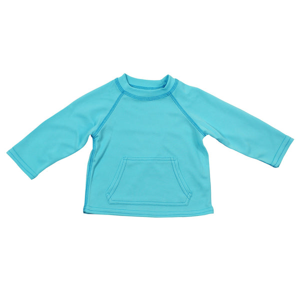 In-stock Breathable Sun Protection Shirt in Light Aqua (Min. of 2)