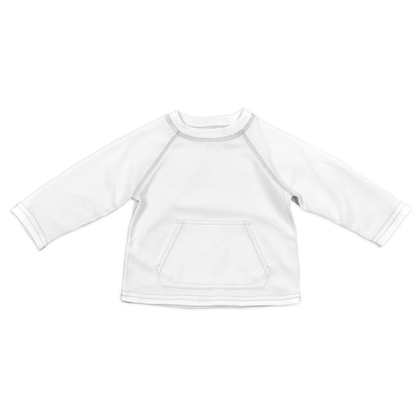 In- Stock Breathable Sun Protection Shirt in White (Min. of 2)
