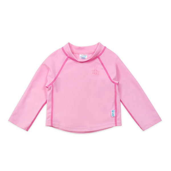 In-Stock Long Sleeve Rashguard in Light Pink (Min.of 2, multiples of 2)