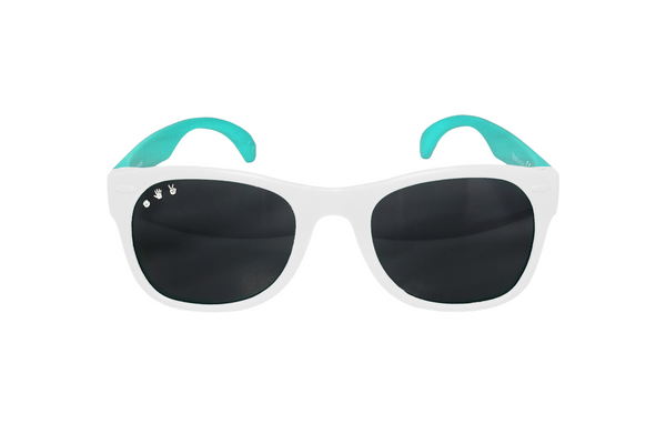 Ro Sham Bo Shades 90210 Combo White/Teal (Min. of 2 Per Color/Style, multiples of 2)