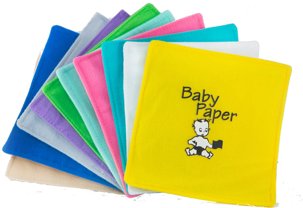Assorted Prints Solids Baby Paper 12 PK (Min. of 1, PK of 12)