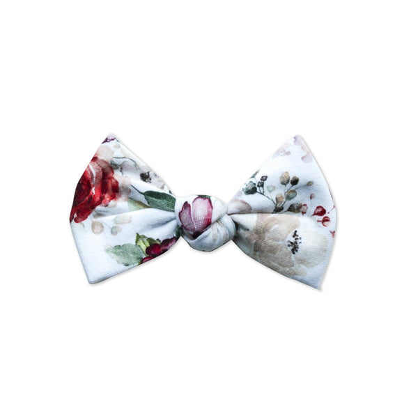 Big Bows - Floral Corail (Min. of 2 multiples of 2)