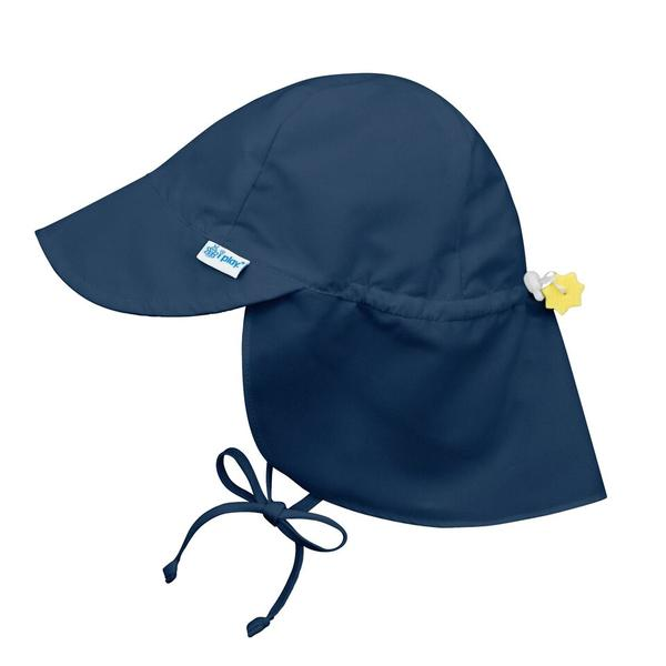 In-Stock Flap Sun Protection Hat in Navy (Min. of 3, multiples of 3)