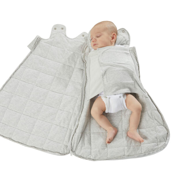 Swaddle Sack Duvet Bamboo Heather Gray 2.6 TOG (Min. of 2, multiples of 2)