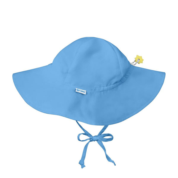 In-Stock Brim Sun Protection Hat in Light Blue (Min. of 3, multiples of 3)