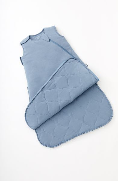 Gunamuna Sleep Sack Duvet Bamboo Solid Denim Blue 1 TOG (Min. of 2, multiples of 2)
