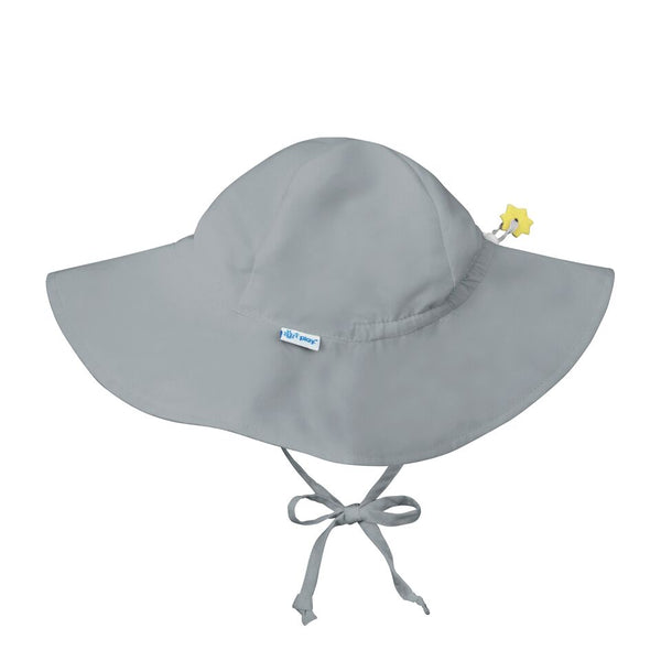 In-Stock Brim Sun Protection Hat in Gray (Min. of 3, multiples of 3)
