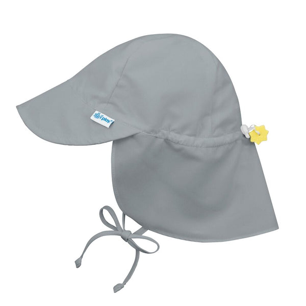 In-Stock Flap Sun Protection Hat in Gray (Min. of 3, multiples of 3)