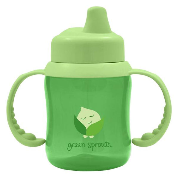 Non-spill Sippy Cup-Green-6/12mo (Min. of 6)
