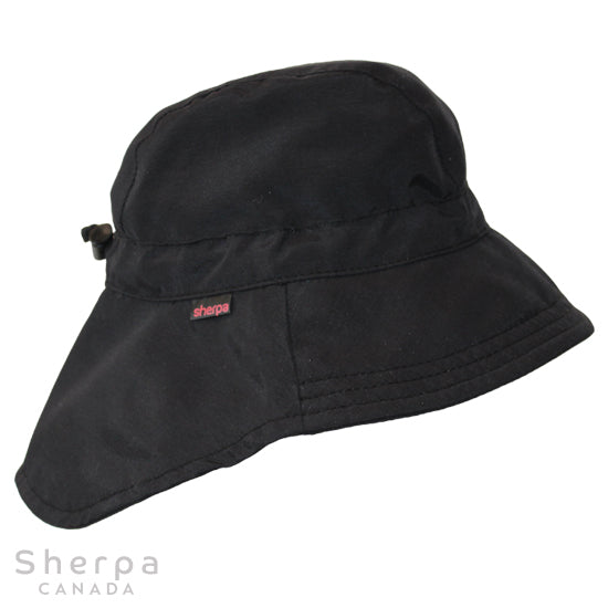 Nylon Sport Hat Black (Min. of 2, Multiples of 2)