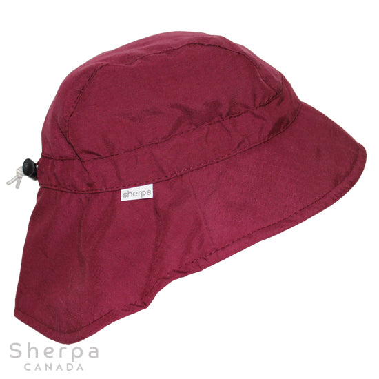 Nylon Sport Hat Raspberry (Min. of 2, Multiples of 2)