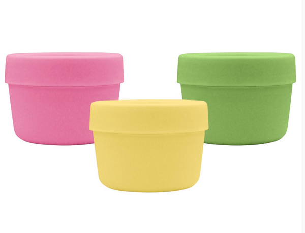 Sprout Ware® Pink Set Snack Cups Made From Plants 3 PK  (Min. of 6)