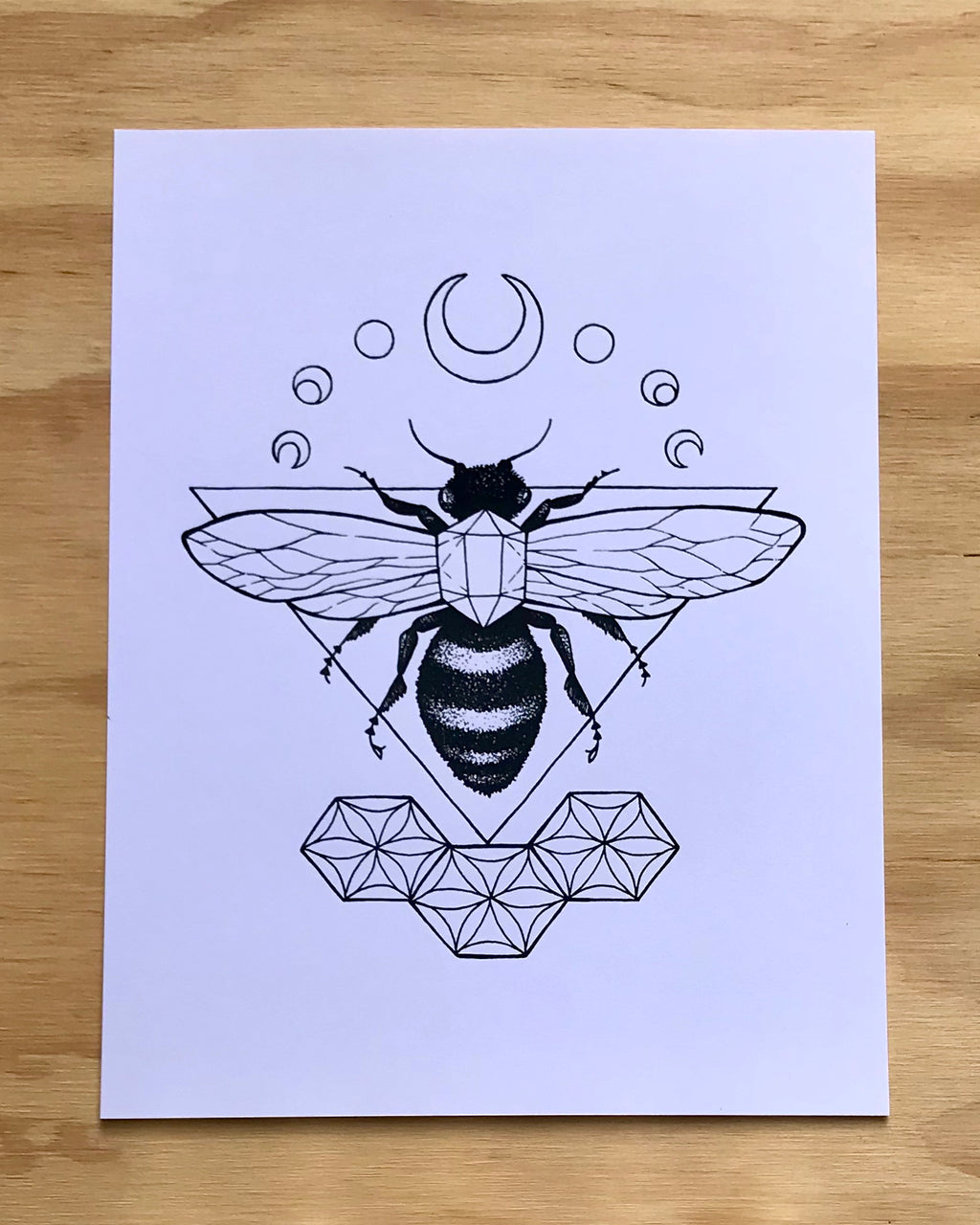 Dreaming the Bee Print