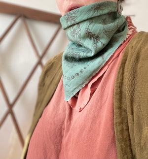 Herbs of Winter Herbalist Bandana