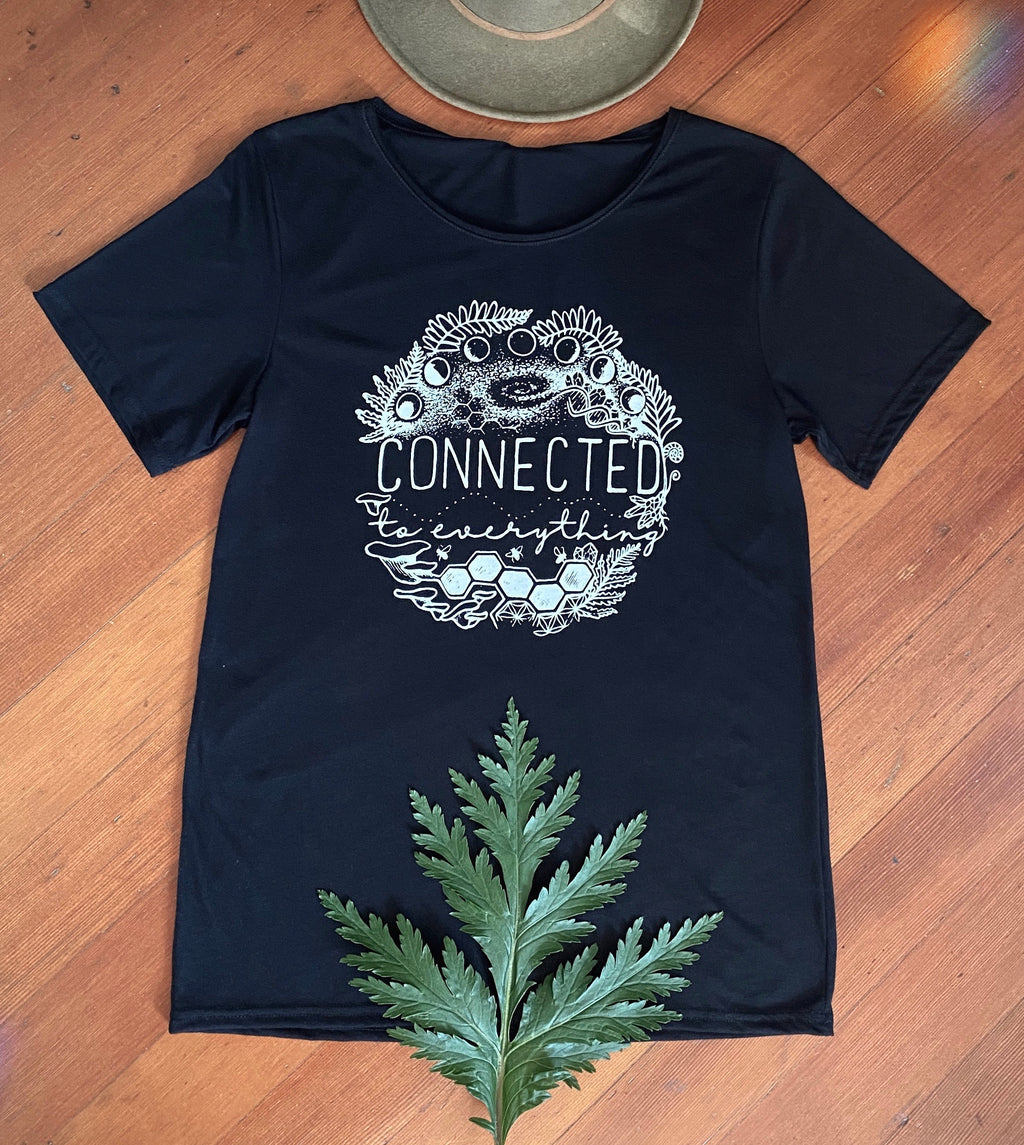 Connected to Everything Tee | Black | SALE