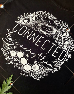 Connected to Everything Tee - Black