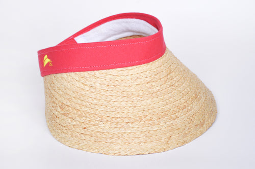 Tulum Raffia Visor (available in 4 colours)