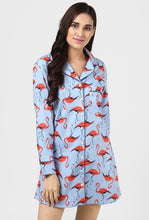 Load image into Gallery viewer, Flamingo Print Night Shirt