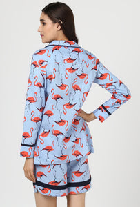 Flamingo Snuggle Up Night Suit