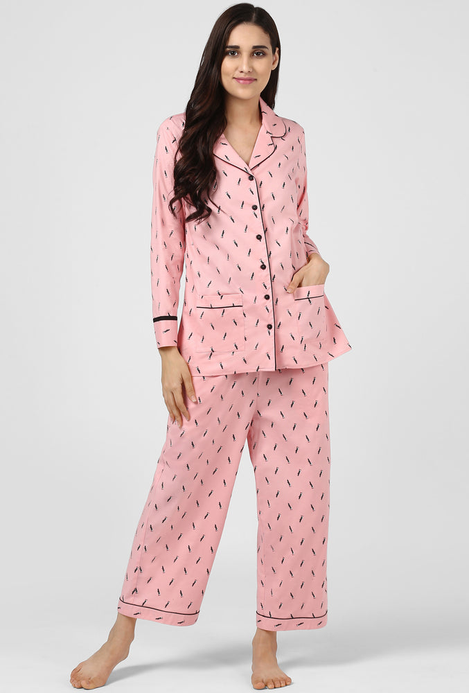 Flying High Pajama Party Night Suit