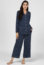 Load image into Gallery viewer, Knot Print Pajama Party Night Suit