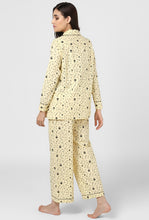 Load image into Gallery viewer, Yellow Print Midnight Musings Night Suit